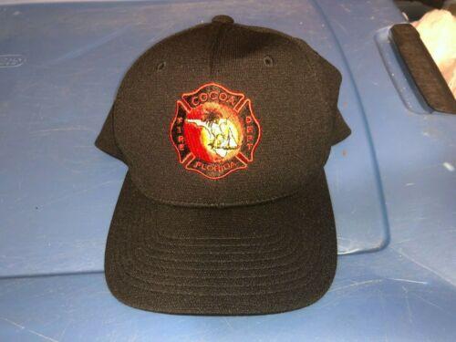 COCOA Florida FIRE Dept Cap Hat Size Small to Medium