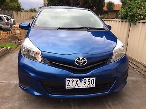Toyota Yaris 2012 with RWC and service book Reservoir Darebin Area Preview