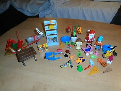 Playmobil advent christmas calendar parts 5494 angel, toys, scooter, elf, sleigh