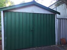10mx3m Shed frame - wood beams & steel trusses (FREE,YOU REMOVE) Embleton Bayswater Area Preview