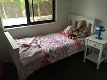 Fantastic kids bed or single bed with matching side table Nerang Gold Coast West Preview