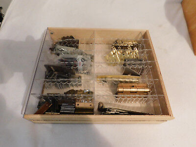 Lot of door hinges over 50 hinges vintage