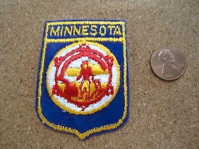 Vintage Minnesota State Patch New Old Stock