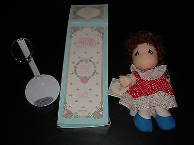 Faye, February Doll of the Month, 4th Edition & stand,  Precious Moments