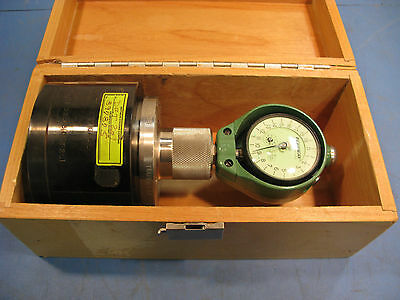 Federal Master Gauge Set In Original Wood Box