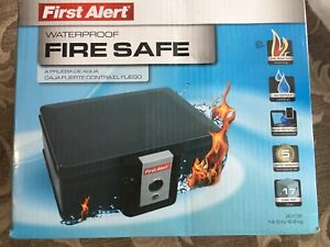 New in box - First Alert fire and waterproof safe