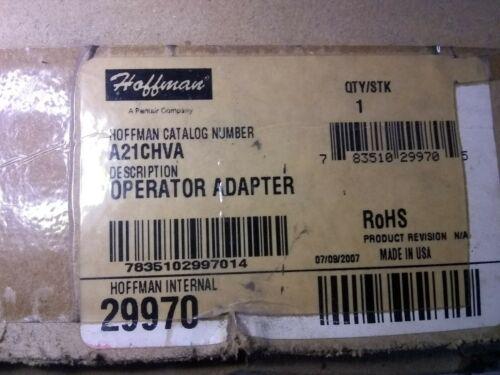 Hoffman Operator Adapter A21chva