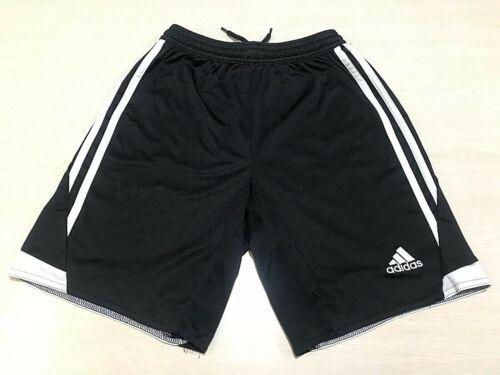 Adidas Climacool Youth Medium Black White Stripes Soccer Shorts