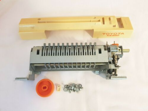 TOYOTA KNITTING MACHINE PART ACCESSORIES KS650 9MM BULKY PUNCH CARD UNIT WORKING