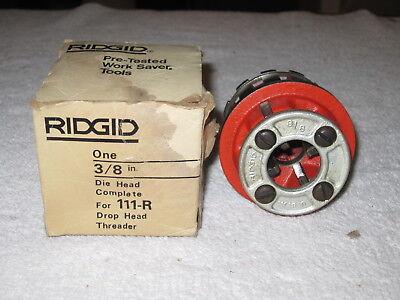 Ridgid  38 111 R Die Head Die Head Complete Winserts