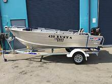 Quintrex 420 Busta Dinghy Package Midvale Mundaring Area Preview