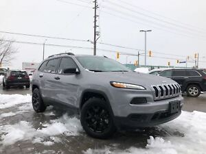 2018 Jeep Cherokee SPORT 4X4 LOW KM'S!!**COLD WEATHER GROUP**