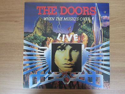 THE DOORS Live When The Music