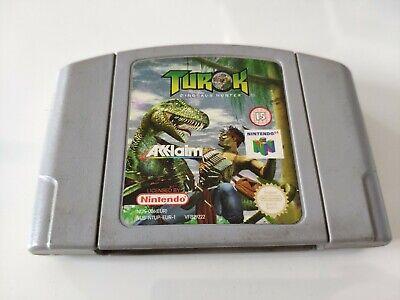 Turok Dinosaur Hunter Nintendo 64 N64 Game Cart Cartridge PAL UK Free P&P