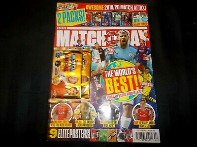BBC Match of The Day Football Magazine Issue 574 October 1st 2019 The World
