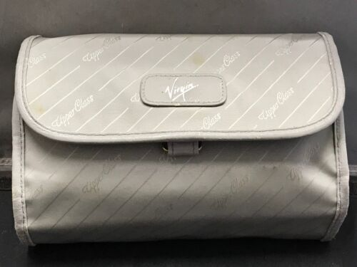 TOILETRIES VIRGIN AIRLINES UPPER CLASS GIFT CASE WITH ELECTRIC SHAVER RARE