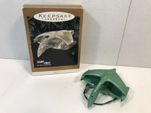 Hallmark Keepsake Ornament 1995 Star Trek Next Generation Romulan Warbird w/ Box