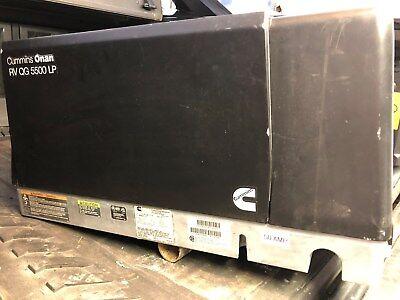 Used Onan Rv Generator - Rv Qg 5500 Lp