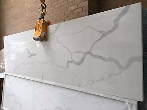 Calacatta and Carrara Quartz Kitchen Benchtop - Ready to Install Thomastown Whittlesea Area Preview