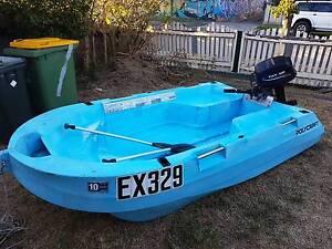 Polycraft Tuff Tender + Motor in great condition Preston Darebin Area Preview