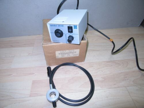 Nice used Volpi Intralux 20 HE Fiber optic Illuminator/light source watchmaker?