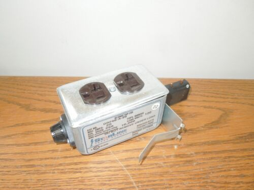 Starline Busway Tap Box Drf60-a-20 20a Fused Duplex Receptacle Starjack A Phase