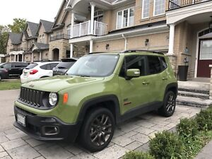 Lease Takeover - Jeep Renegade 2016 Anniversary Edition