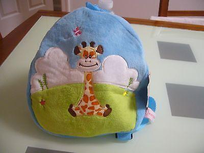 New Blue Giraffe Toddler Boy Girl Backpack cute school travel patrol bag paw