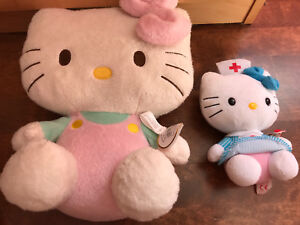 2 toutous hello kitty