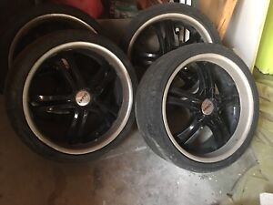 Boss Motorsports wheels and tires