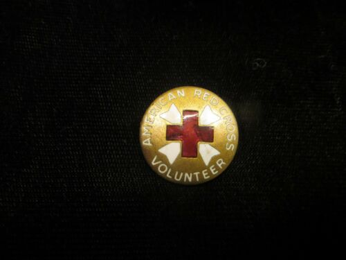 WWII - Red Cross Pin - Volunteer