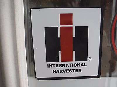 International Harvester Decal. Trademark. Vinyl 6 X 6. See Details