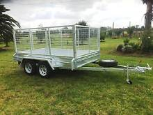 10x6 Galvanised Tandem Box Trailer Cage Electric Bakes 2900 ATM Kemps Creek Penrith Area Preview
