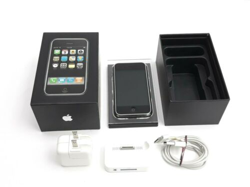 Apple iPhone 1st Generation - 8GB - Black (AT&T) A1203 (GSM) Non Matching Box