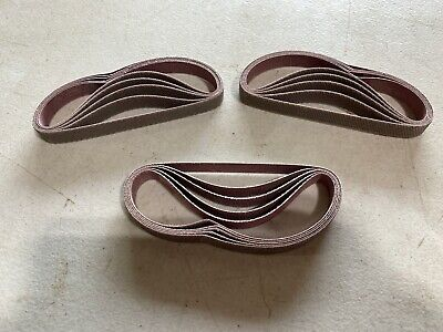 20 Count Norton U234 Norax Plyweld Sanding Belts 12 X 12 Grit X80x Nos