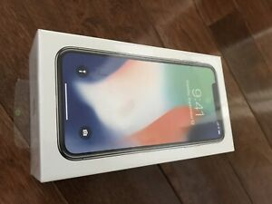 iPhone X 64GB Sealed