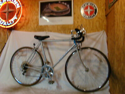 VINTAGE RALEIGH RECORD 10-SPEED MENS ROAD RACING BICYCLE SPORTS TRIUMPH BSA 80S