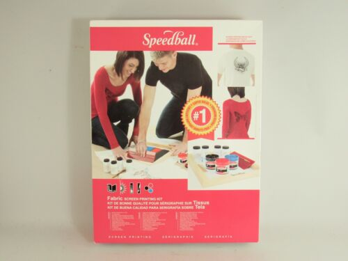 Speedball Fabric Screen Printing Kit New