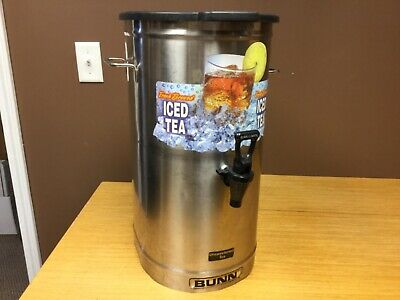 Bunn Model Td0-4 Reservoir Brew Thru Tea Dispenser 4 Gallon Wlid
