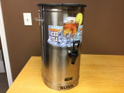 Bunn Model TD0-4, Reservoir Brew Thru Tea Dispenser 4 Gallon w/Lid