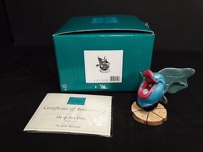 WDCC The Little Mermaid ~ Blackfish ~ DEEP SEA DIVA ~ Box and COA