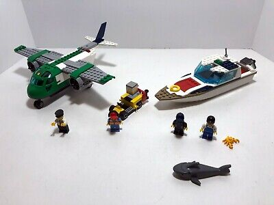 LEGO City LOT: Airport Cargo Plane 60101 + Diving Yacht 60221
