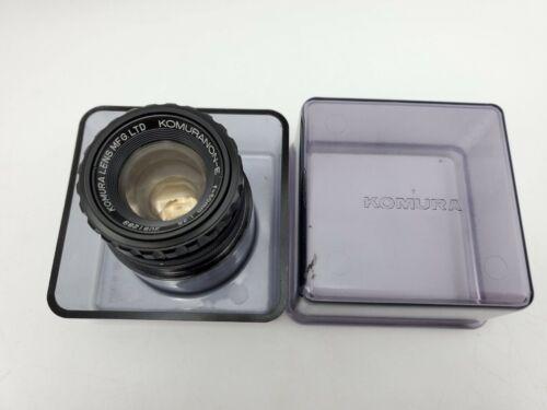 Komura Komuranon-E 50mm F3.5 Enlarging Lens w/ Case