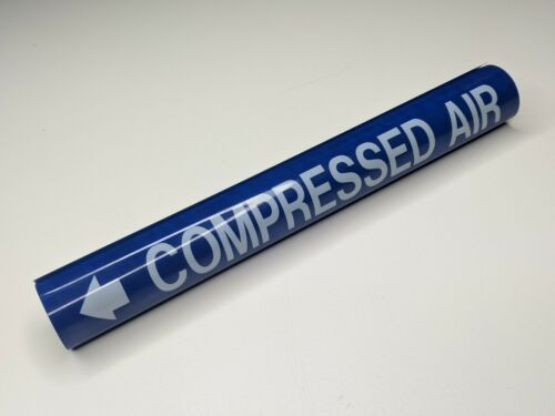 """Compressed Air Coiled Pipe Marker - 1-1/8"""" thru 2-1/4"""" - wrap ms975 style b"""