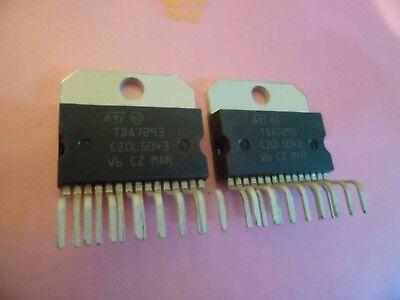 TDA7293V STM Audio Amplifier IC 120V 100W Amp Muting Stand-By TDA7293 V 851696