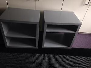 Bed side tables , cabinets matching ikea Newtown Inner Sydney Preview
