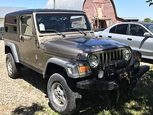 2004 jeep tj unlimited