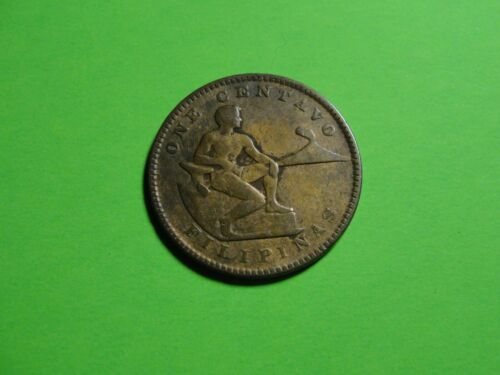Philippines 1918 S one centavo US Administration Coin