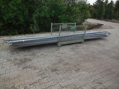 5 x Layer Gerüststangen, 1 ½ Zoll, 5,0 m, Rohr, Wasserleitung, Luftleitung