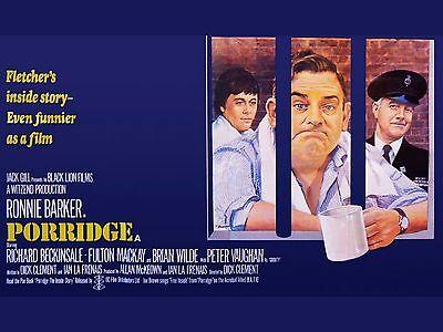 "Porridge 16"" x 12"" Reproduction Movie Poster Photograph 1"